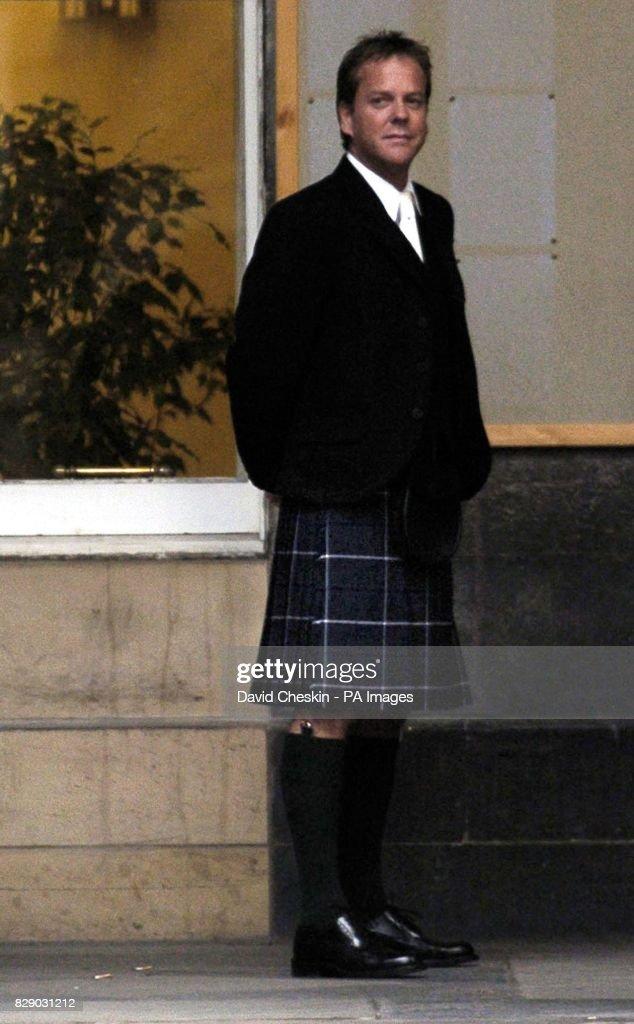 Kiefer Sutherland attends daughters wedding : ニュース写真