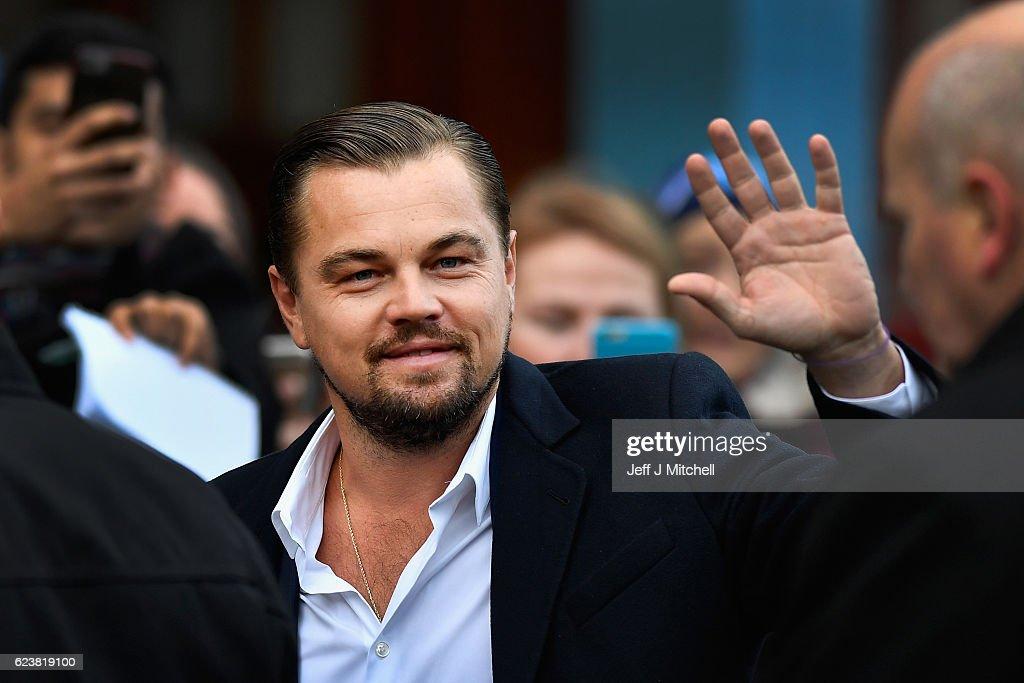 Leonardo Di Caprio Has Lunch At The Social Bite Cafe : News Photo