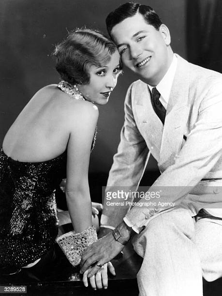 Hollywood actress Bessie Love stars with dancer and actor Charles King in the MGM film 'Broadway Melody' the screen's first ever musical