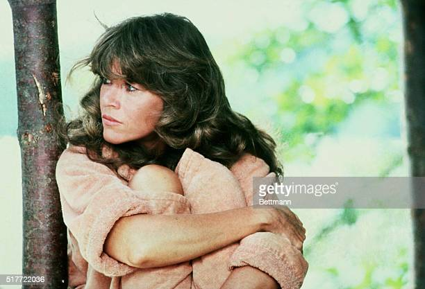 Actress Jane Fonda, daughter of actor Henry Fonda, shown here in the movie On Golden Pond.