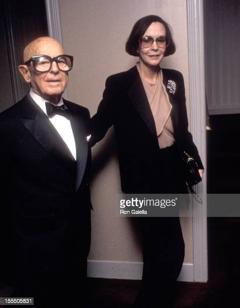 Hollywood agent Irving Swifty Lazar and wife Mary Van Nuys attend The Museum of Television and Radio Gala to Celebrate Its Upcoming New Building...