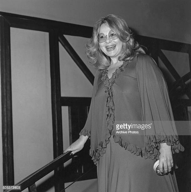 Hollywood agent Sue Mengers attends the American Film Institute tribute to actress Bette Davis Los Angeles USA March 1977