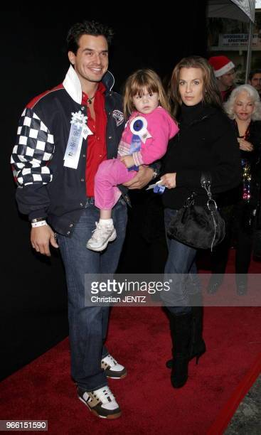 Hollywood Antonio Sabato Jr attends the 2005 Hollywood Christmas Parade at the Hollywood Roosevelt Hotel in Hollywood California United States...