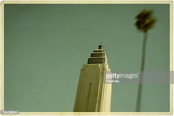 Hollywood Art Deco Building Postcard