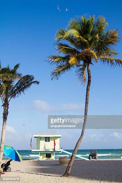 ハリウッドビーチ,フロリダ,アメリカます。 - フロリダ州ハリウッド ストックフォトと画像