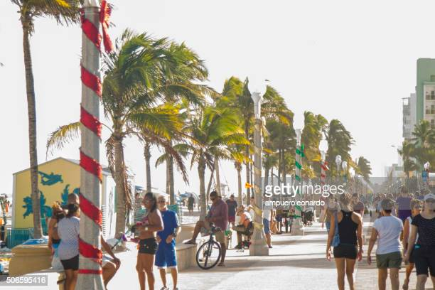 Hollywood Beach, Florida, USA.