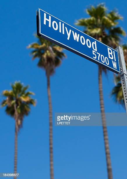 hollywood blvd - hollywood boulevard stock pictures, royalty-free photos & images