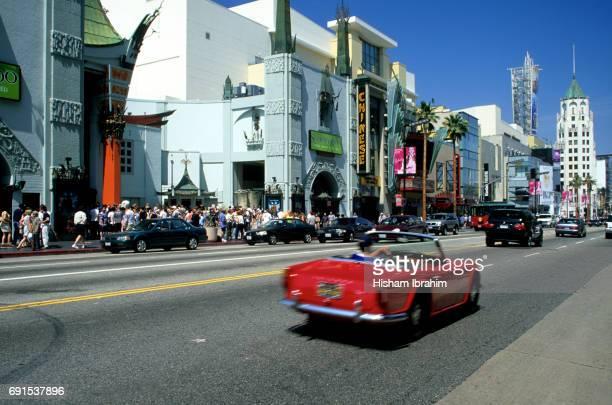 Hollywood Boulevard, Los Angeles, California, USA