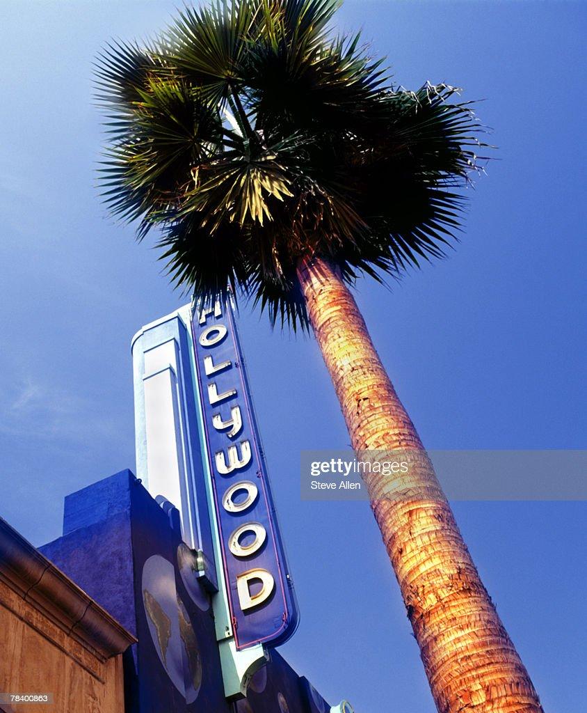 Hollywood Boulevard, Los Angeles : Bildbanksbilder