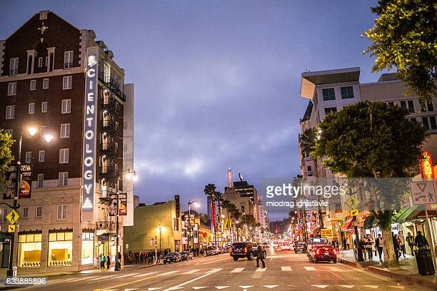 hollywood boulevard - hollywood boulevard stock pictures, royalty-free photos & images
