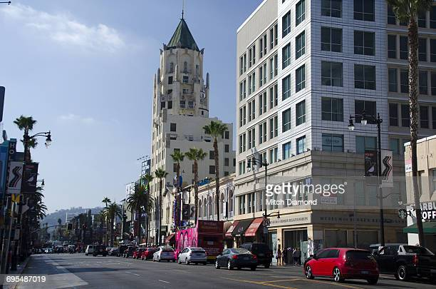 Hollywood Boulevard Street