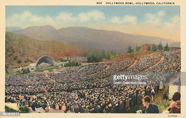 Hollywood Bowl Hollywood California 1939