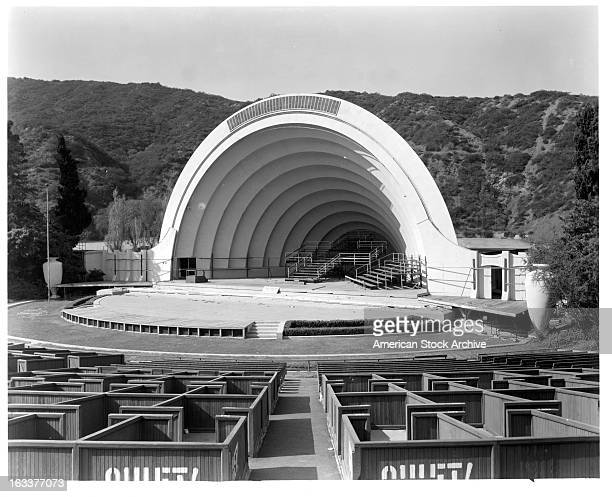 Hollywood Bowl in Los Angeles California 1955