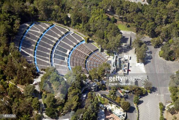 Hollywood Bowl is photographed March 6 2003 in Los Angeles California