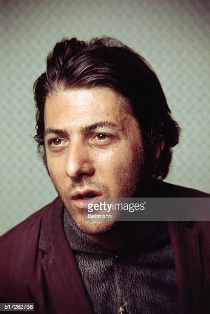"""Hollywood, CA.: Actor Dustin Hoffman, one of five nominees for the Academy award for """"Best Actor of 1969,"""" for his work in Midnight Cowboy, is shown..."""