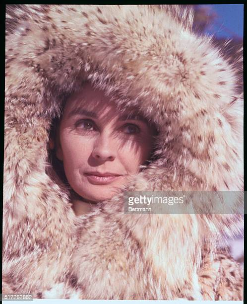 Actress Jean Simmons nominated for best actress of 1969 by the Hollywood Academy Awards committee is shown in a scene from the Happy ending the...