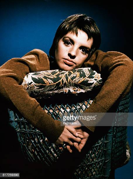 """Hollywood, CA.: Actress Liza Minnelli, one of the five nominees for the Academy Award's """"Best Actress of 1969,"""" for her role in The Sterile Cuckoo,..."""