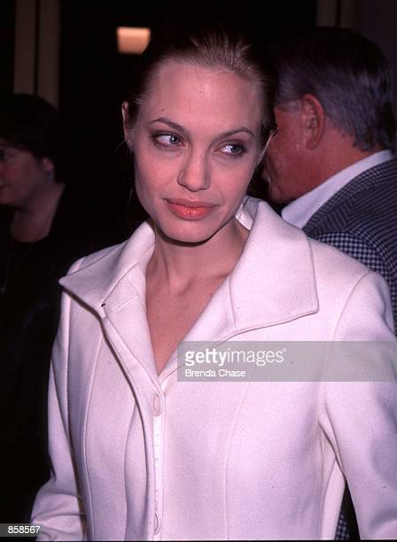 Hollywood CA Angelina Jolie attending the Los Angeles premiere of her new movie The Bone Collector Photo by Brenda Chase Online USA Inc