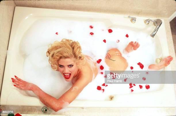 Hollywood CA Anna Nicole Smith at boyfriend Christian Audigier's Hollywood apartment