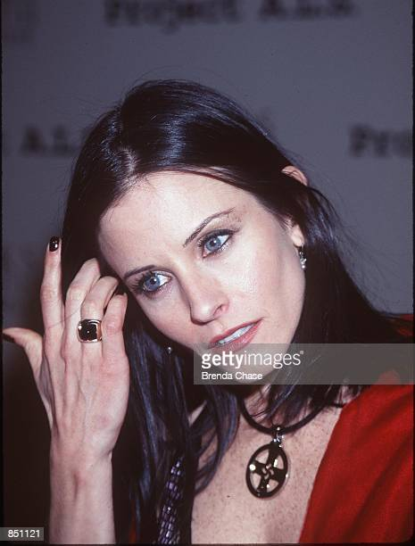 Hollywood CA Courteney Cox attends the First Annual Project ALS Event to raise money for Lou Gehrig's disease