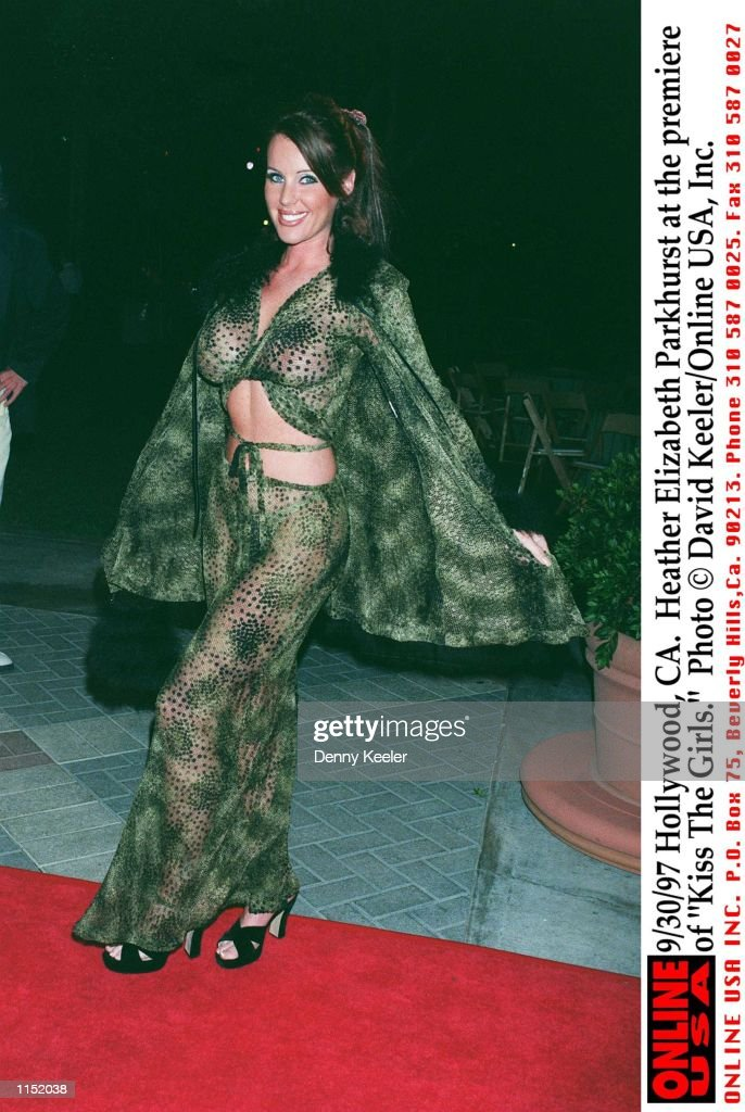"9/30/97 Hollywood, CA. Heather Elizabeth Parkhurst at the premiere of ""Kiss The Girls."" : News Photo"