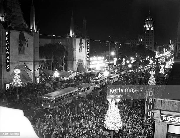 Hollywood, CA- Hollywood, film capitol of America, cast aside the serious side of life and went into a gala holiday mood with its recent Christmas...