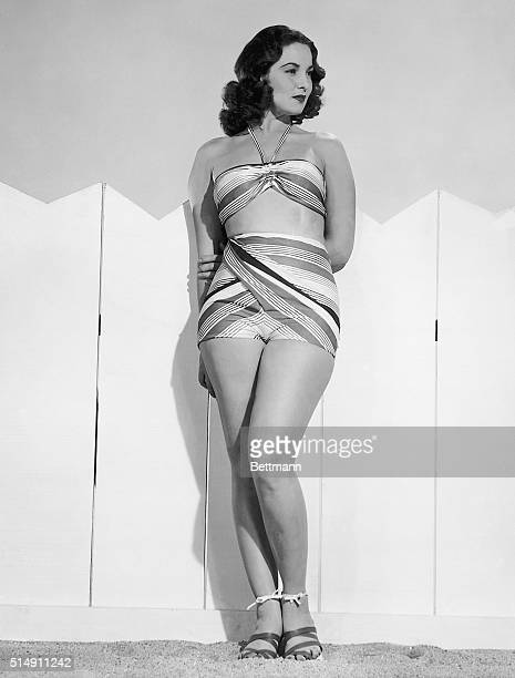 2/4/1946 Hollywood CA Lovely English actress Patricia Roc first LendLease film player to come to this country for a role in Universal's Canyon...