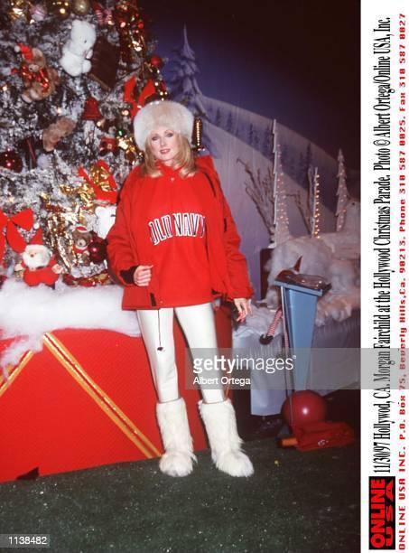 Hollywood CA Morgan Fairchild at the Hollywood Christmas Parade