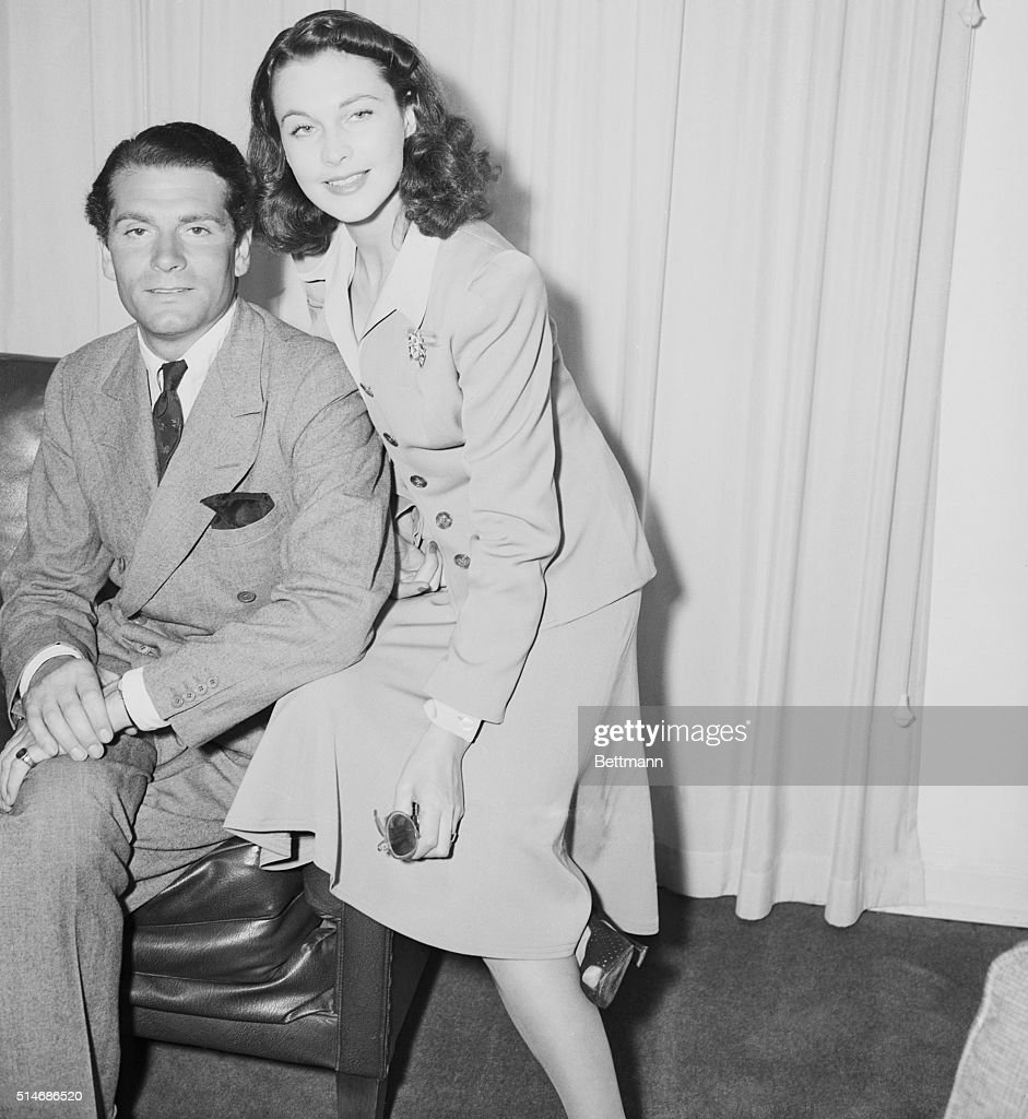 Vivien Leigh And Laurence Olivier : News Photo