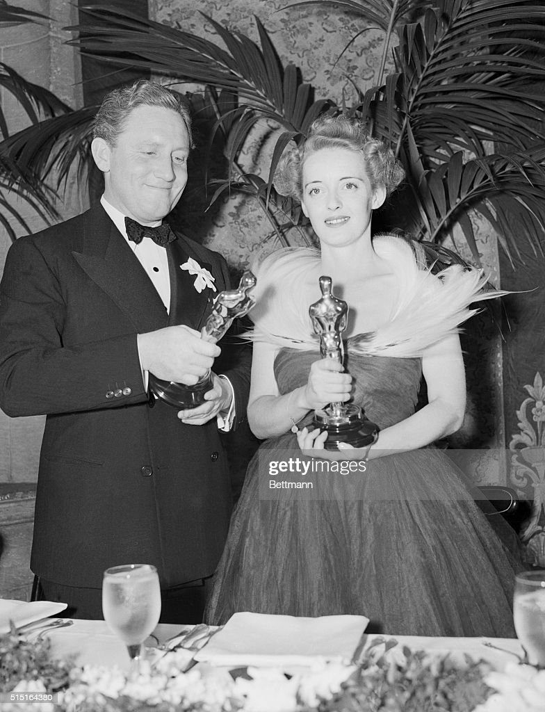 Spencer Tracy and Bette Davis... : News Photo