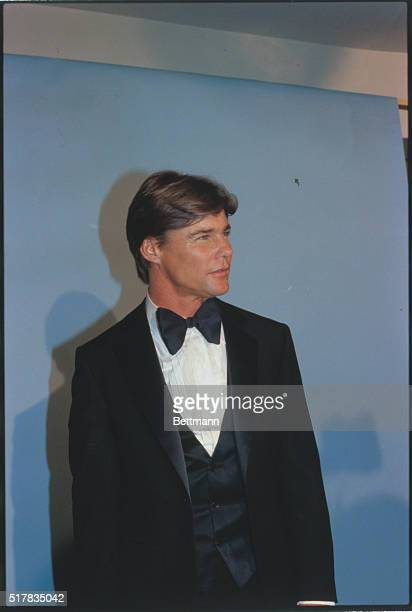 Actor Jan Michael Vincent in a close up shot during the exciting Academy of Country Music Awards