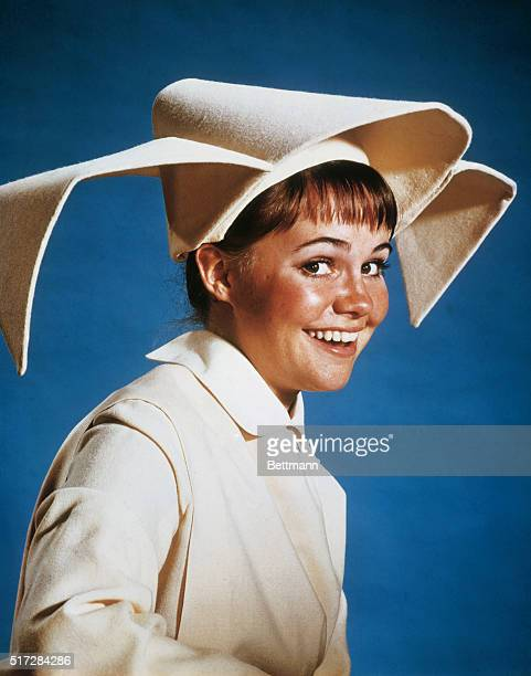 Hollywood California Actress Sally Field in role of The Flying Nun which she portrays on the television series