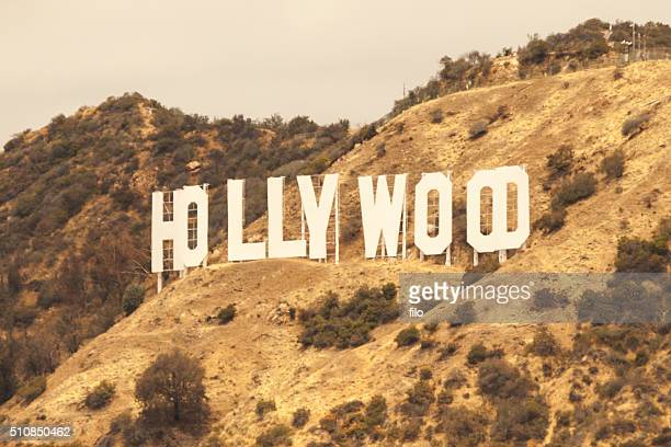 Hollywood California Sign