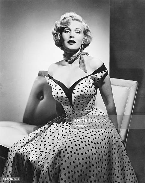 Zsa Zsa Gabor of the fabulous Gabor clan