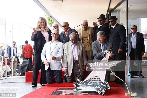 Hollywood Chamber of Commerce Chair of the Board Fariba Kalantari Producer Vin Di Bona record producer Quincy Jones singersongwriter Bill Withers...