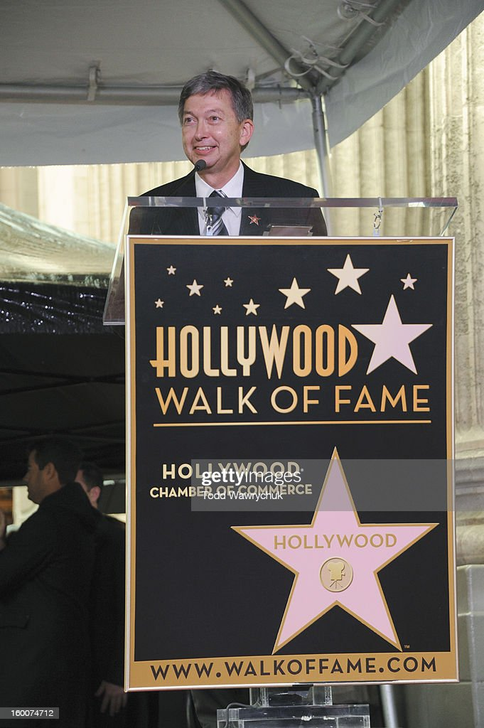 LIVE - Hollywood Chamber of Commerce honored Jimmy Kimmel with a star on the Hollywood Walk of Fame today, Friday, January 25, at 11:30 a.m. at 6840 Hollywood Boulevard in front of the El Capitan Entertainment Centre where his show resides. LERON