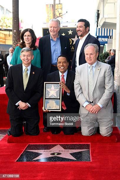 Hollywood Chamber of Commerce President/CEO Leron Gubler Radio Personality Larry Elder Councilman Tom LaBonge Maureen Schultz actors Jon Voight and...