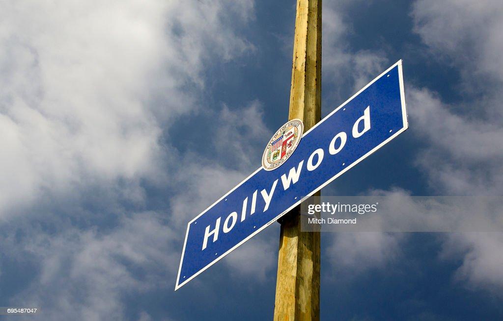 Hollywood City Sign : Stockfoto