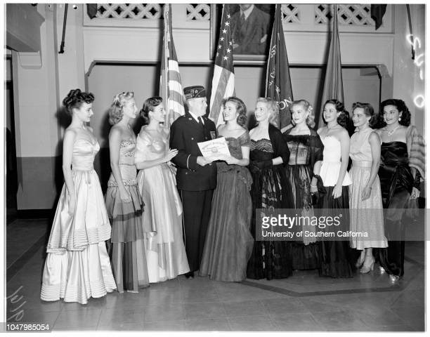 Hollywood colonels May 15 1951 Janice RulePenny EdwardsCharlotte AustinWilliam LaffinJean MooreheadCindy GarnerLori NelsonMala PowersMary Ellen...