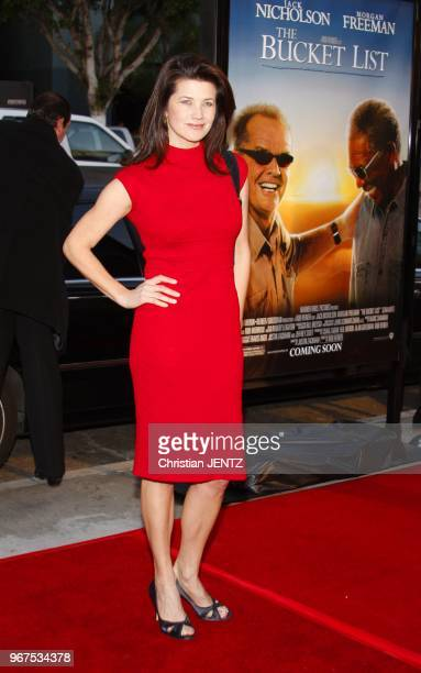 Hollywood Daphne Zuniga attends the World Premiere of 'The Bucket List' held at the ArcLight Theater in Hollywood California United States