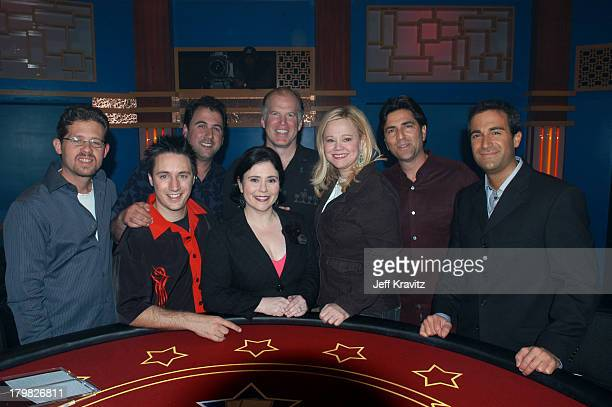 Hollywood Dave Alex Borstein Caroline Rhea and Matt Vasgersian