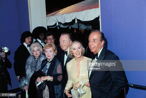 Entering Ciro's for party to celebrate Liza Minnelli's mariage to Jack Haley Jr Right to left are director Vincente Minnelli father of the bride Lee...