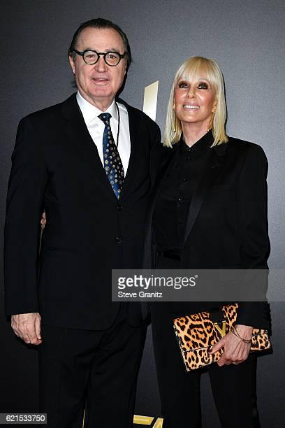 Hollywood Film Festival founder Carlos de Abreu and Janice Pennington De Abreu attend the 20th Annual Hollywood Film Awards on November 6 2016 in Los...