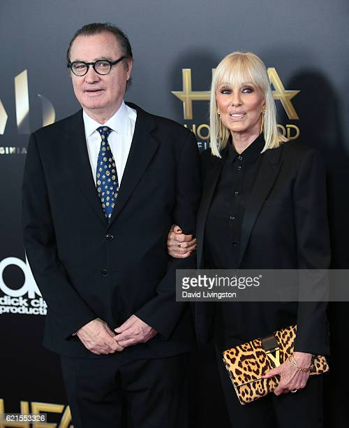 Hollywood Film Festival founder Carlos de Abreu and Janice Pennington attend the 20th Annual Hollywood Film Awards on November 6 2016 in Beverly...