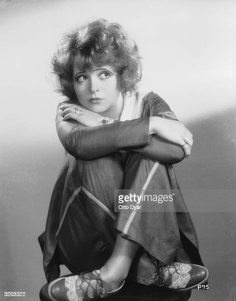 Hollywood film starlet Clara Bow
