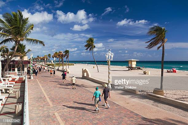 hollywood, florida, exterior view - hollywood florida stock pictures, royalty-free photos & images