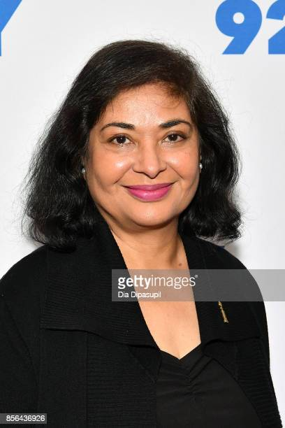 Hollywood Foreign Press Association president Meher Tatna attends Gal Gadot and Meher Tatna in Conversation with Carla Sosenko at 92nd Street Y on...