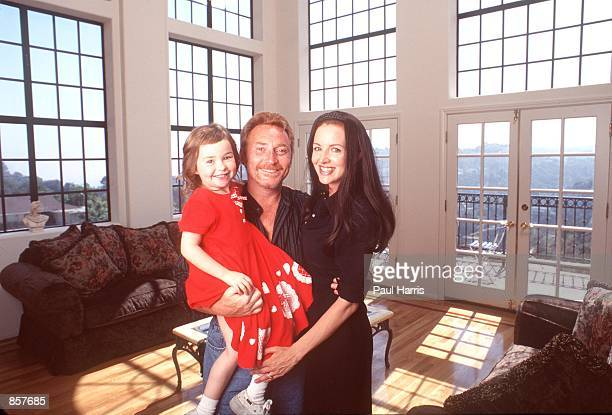 Hollywood Hills CA Former Partridge Family child star Danny Bonaduce with his wife Gretchen and daughter Isabella at their new Hollywood Hills home...