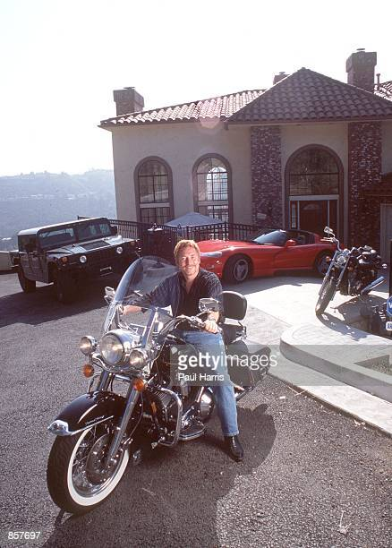 Hollywood Hills CA Former Partridge Family child star Danny Bonaduce with his toys The actorturneddeejay recently moved back to California for his...