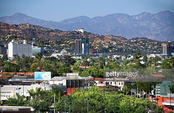 hollywood hills - hollywood hills stock pictures, royalty-free photos & images